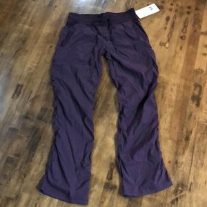 Lululemon dance studio pant plum new